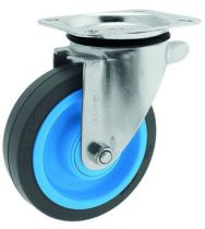 Roue Resilex® grise - Maxi-roll
