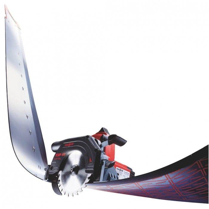 Scie circulaire plongeante KSP 40 Flexistem - hauteur de coupe à 90° - 40 mm - 900 Watts