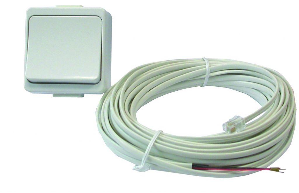 Bouton poussoir avec câble