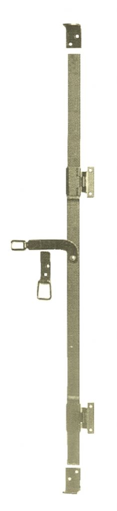 Espagnolette pour volet acier bichromat for Tringlerie porte fenetre