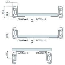 Kit équerre DB 635 pour glissières 5321