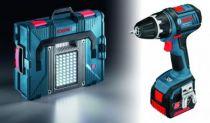 Kit perceuse visseuse GSR 14 V-LI avec lampe GLI Portal led