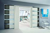 Porte galandage edac kit transformation 2 vantaux avec - Kit habillage porte coulissante ...