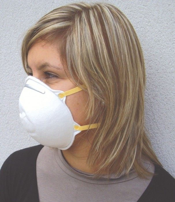 Masques coque jetables FFP2