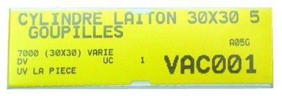 Ordonnancement Porte étiquette adhésif transparent