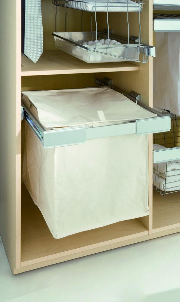 accessoires pour penderie panier linge pour cadre coulissant. Black Bedroom Furniture Sets. Home Design Ideas