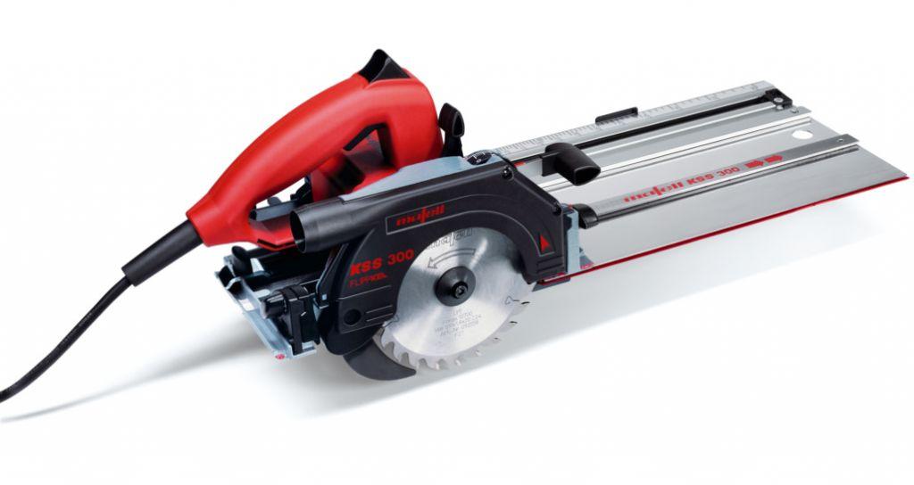 Scie circulaire plongeante KSS 300 MaxiMax - hauteur de coupe à 90° - 40 mm - 900 Watts
