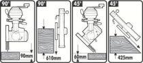 Scie radiale DW 721 KN