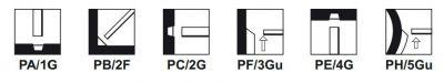 Electrode inox Arosta 307