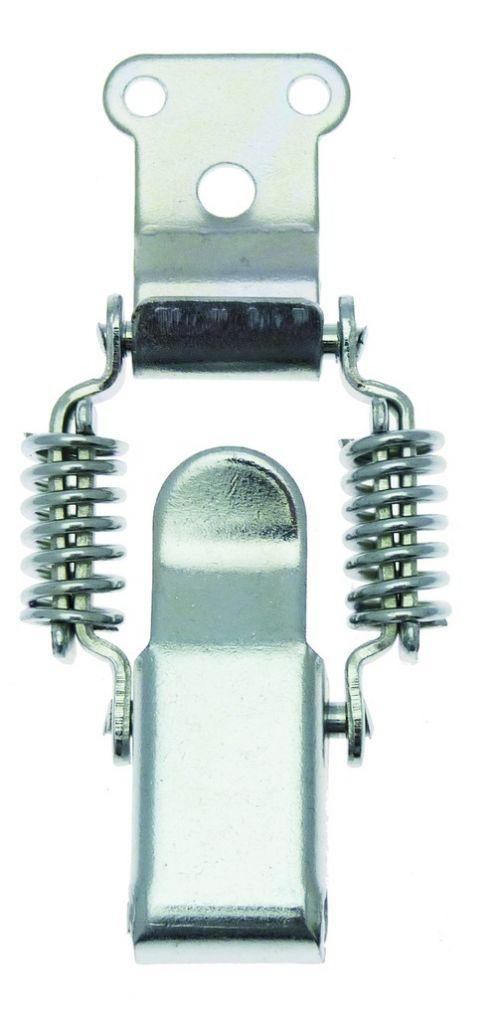 Fermeture à levier avec crochet droit - à ressort