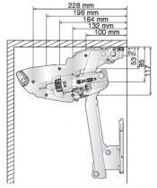 Kit ferrure Ewiva Clickfixx avec barre