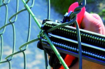Outils pour clôture pince à grillage avec chargeur Top Graf 20/22