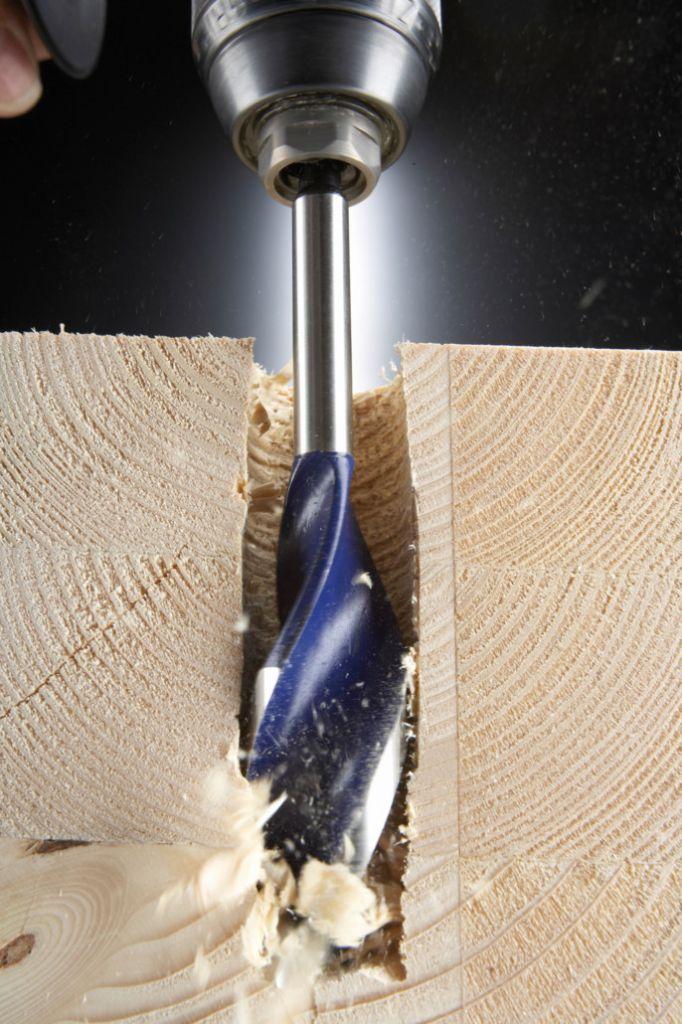 Mèche à bois à hélice unique blue Groove 6x