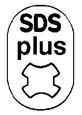 Foret au carbure queue d'emmanchement SDS+ 5