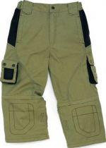 Pantalon 3 en 1 Mach Spring polyester/coton beige/noir