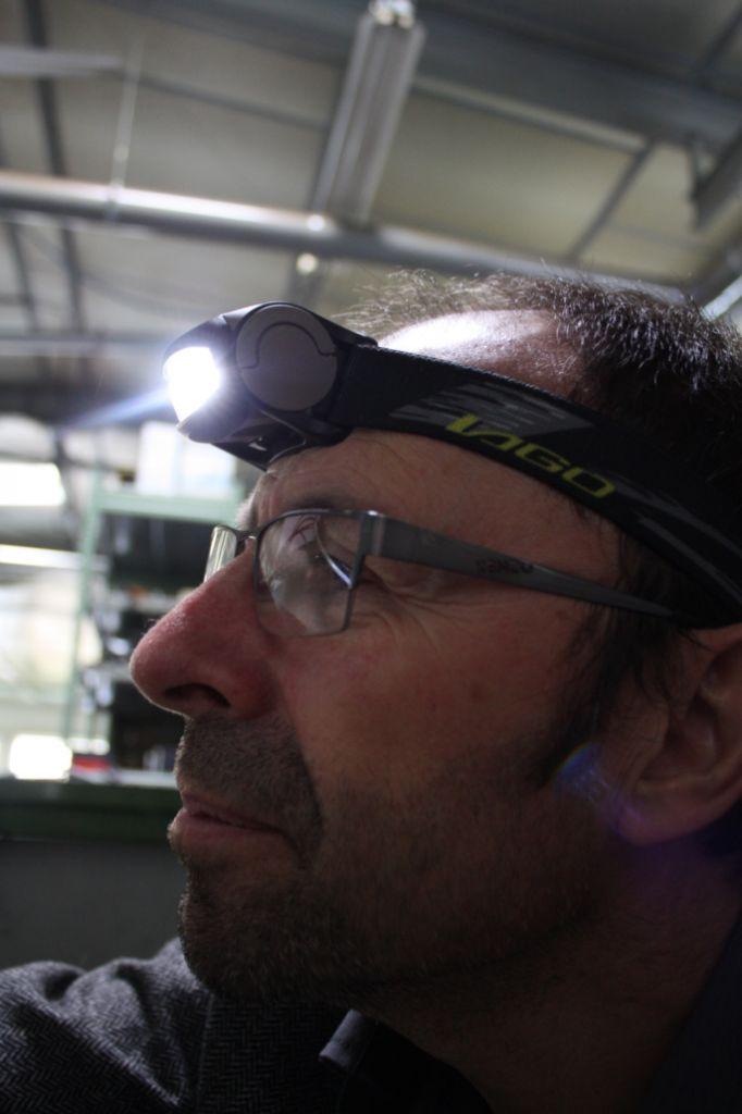 Lampe frontale Boxer 410 - 4 leds - double intensité