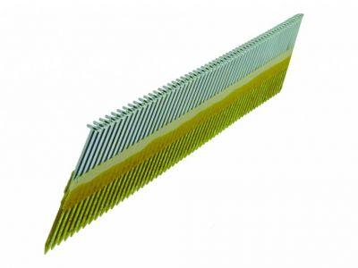 Cloueur à bandes pointes D - têtes plates lisses - galvanisées - pour Framepro 651