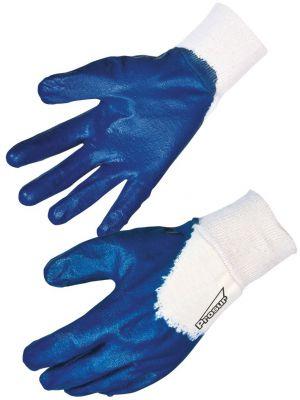 Gant nitrile enduit bleu
