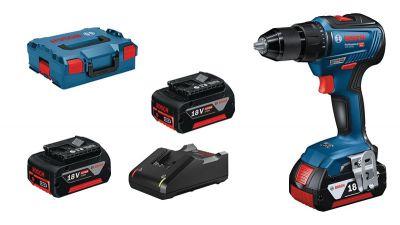 GSR 18v-21 4 ah + 2 batteries