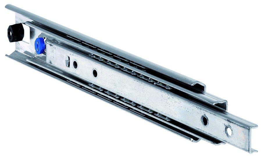 Paire de glissi/ères /à billes /à sortie totale pour tiroir /à extraction totale/ /70/cm