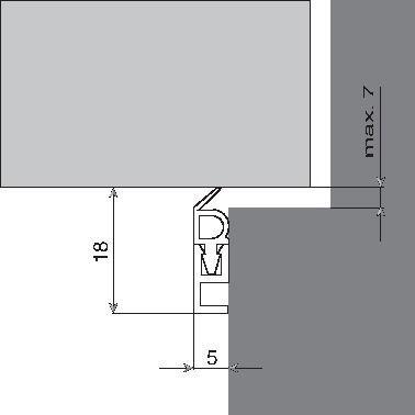 Type PTS - longueur 2,10 m