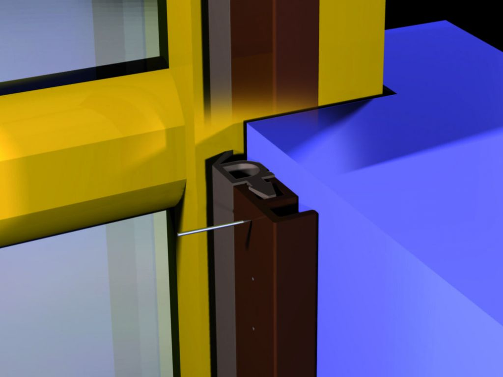 Joints d'isolation sur support PVC - type PTS
