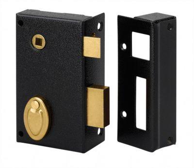 Sûreté à 4 gorges Métalux verticale à fouillot - Carré de 7 mm - 2 clés