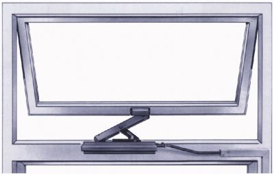 Kit de projection extérieure pour embrasure de 0 à 30 mm