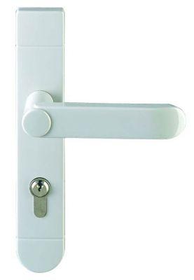 Ensemble Inpro plaque 220 x 40 mm - entraxe de fixation 195 mm - Blanc 19