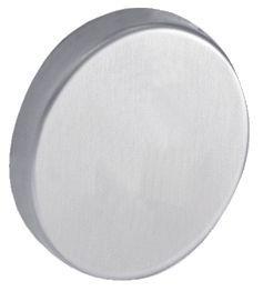 Jeu de rosaces rondes pour lignes Kinox/Linox ø 52 mm - épaisseur 10 mm