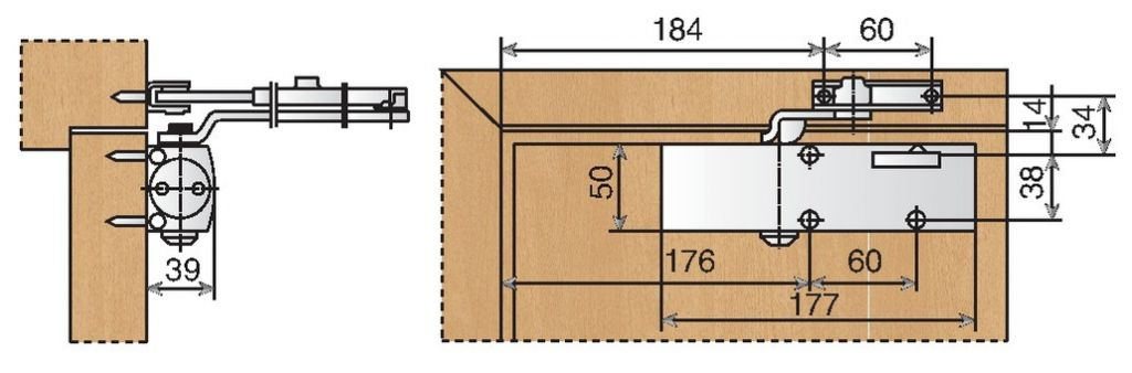 Ferme - porte TS 1500