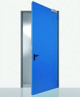 Porte 1 vantail réversible - ral 9010 gamme multi - usages Proget