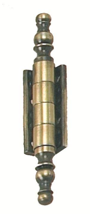 Charnière universelle à vase - axe acier/corps acier