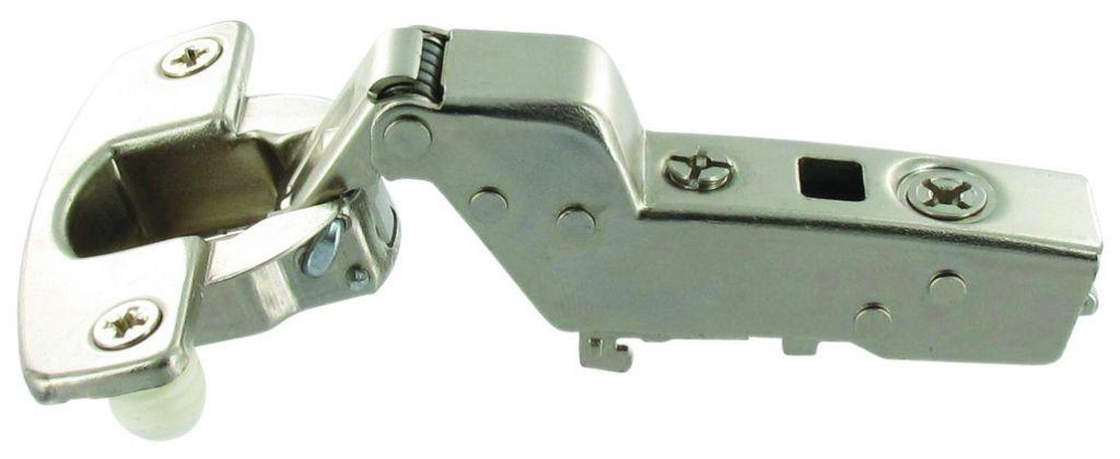 Charnière invisible ø 35 mm série Intermat 110° Sensys bras coudé 16 mm