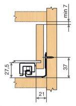 Sortie totale TANDEM 566H - charge dynamique de 50 kg
