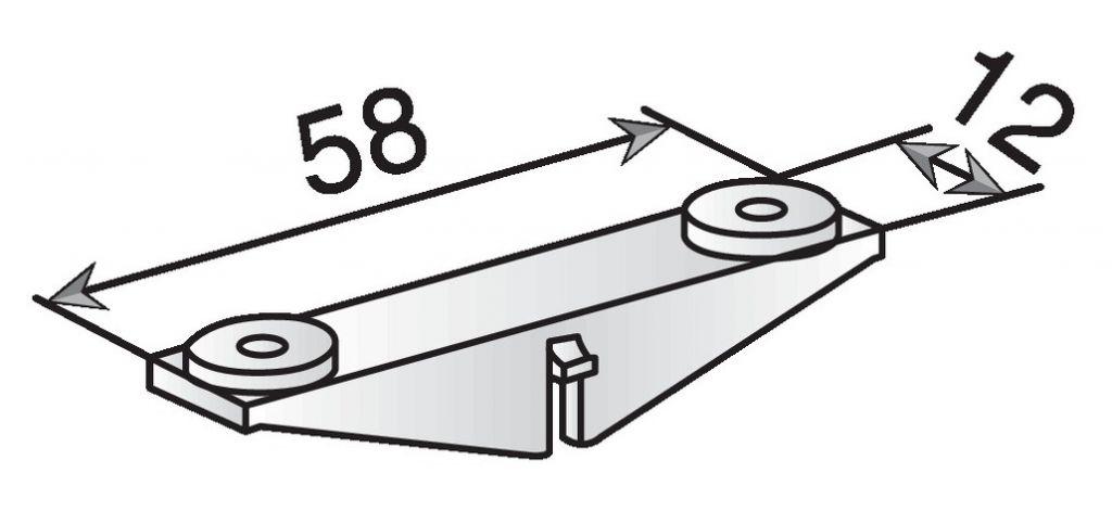 Cavalier pour consoles DM - DMA - DMP - DMAP - ST et CMO