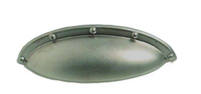 Poignée classique coquille zamack longueur 93 mm
