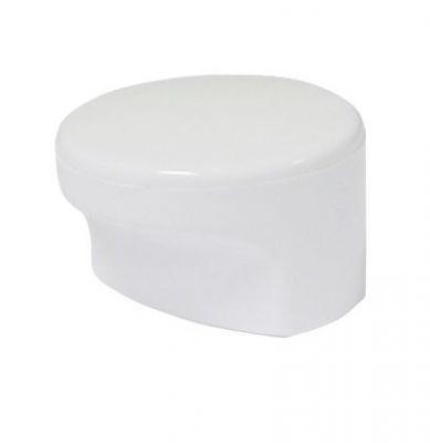 Bouton classique cylindrique - nylon à 1 encoche ø 40 mm