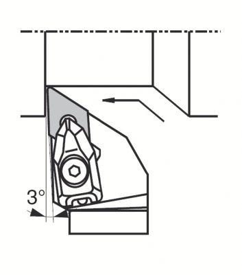 Porte-outils DDJN et plaquettes DNMG