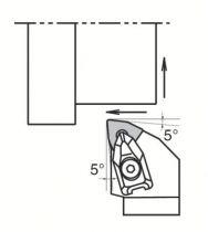 Porte-outils DWLN et plaquettes WNMG