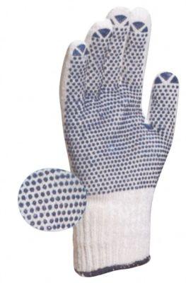 Gant tricoté en polyester coton