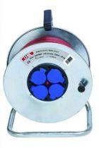 Enrouleur prolongateur cyber-câble avec disjoncteur thermique - utilisation en extérieur