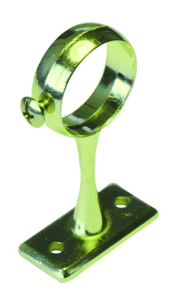 Piton sur platine avec vis d'arrêt - saillie 60 mm