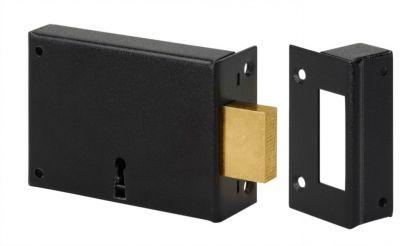Serrure de sûreté à 2 gorges horizontale à pêne dormant - 2 clés - 12 variures