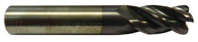 Fraise queue cylindrique denture 35/38° Altima (ALTIN) - 4 dents torique (rayonnée) carbure micro-grain