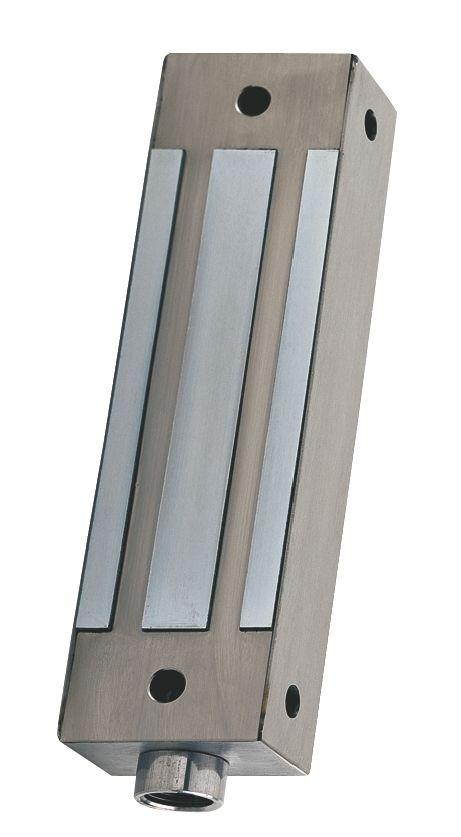 Ventouse électro magnétique inox force 500 kg en applique
