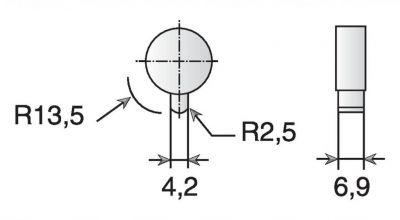 Fermeture 2339 - boîtier de manoeuvre