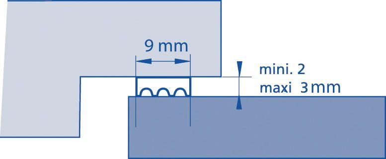 Ellenflex K et P - largeur 9 mm