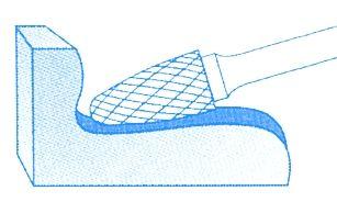 Fraises limes rotatives