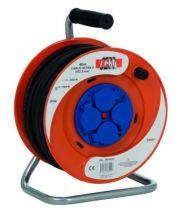 Enrouleur prolongateur série IBP - câble HO7 RN-F avec disjoncteur thermique - utilisation en extérieur